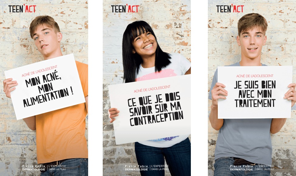Les 3 brochures Teen'act