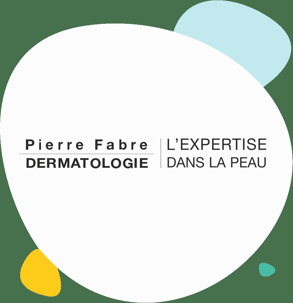 Logo Pierre Fabre Dermatologie et L'expertise dans la peau